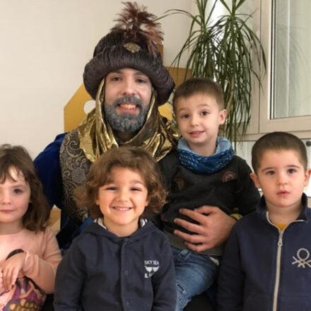 El Carter Reial visita l'Escola Paidos