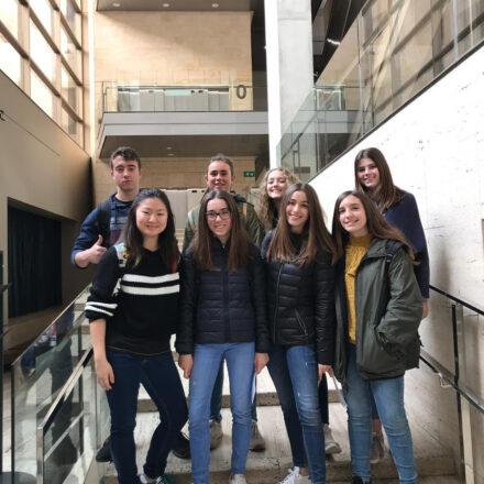 Participació dels alumne d'ESO a NeuroArt