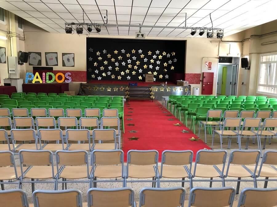 La sala ja està preparada per la gala