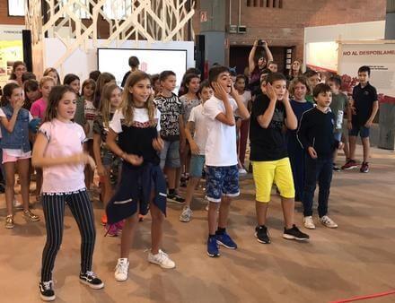 Actuació alumnes 5è a la Fira de Lleida