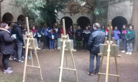 Visita a Sant Benet 2n d'ESO