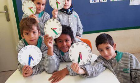 2n de Primària aprenen les hores i els quarts